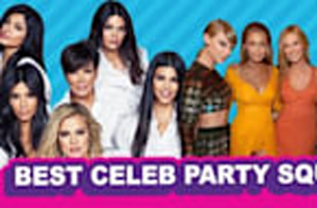 Taylor Swift vs Kardashians: Best Celeb Party Squad (Debatable)