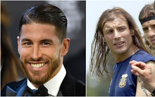 His goals inspired me and so did his hair - Ramos meets idol Caniggia