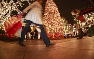 Christmas shopping can make you dizzy with stress