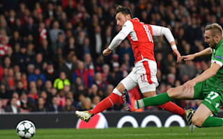 Arsenal 6 Ludogorets 0: Ozil scores hat-trick in rout