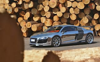 Polished chrome Audi R8 hits the market in Germany