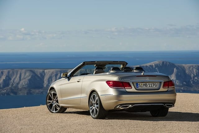 2013 Mercedes E-Class Coupe and Cabriolet
