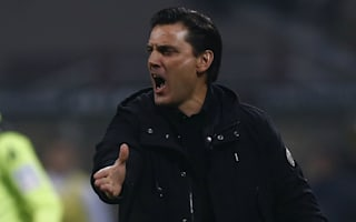 Montella furious with AC Milan's 'terrible' first half at Empoli
