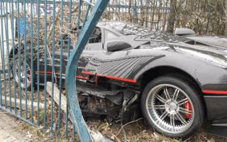 Bodyguard crashes boss's £1million supercar