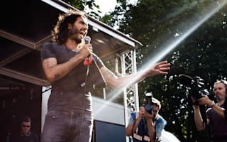 Russell Brand voted person you'd least like to sit next to in a car