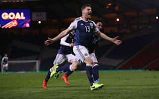Scotland 1 Slovenia 0: Late Martin winner eases pressure on Strachan