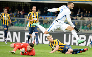 Verona 3 Inter 3: Icardi and Perisic rescue a point for Mancini's men