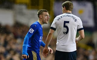 Vertonghen frustrated by Leicester tactics