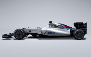 Williams F1 team reveals 2015 car