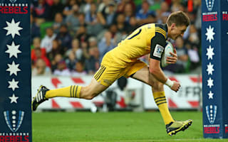 Barrett brilliance helps Hurricanes thrash Rebels