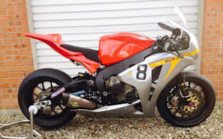 Honda superbike raced by Guy Martin for sale