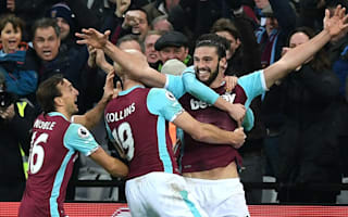 West Ham's goal of the month was no contest - literally