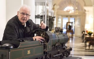 Pete Waterman sells model train collection for £600k
