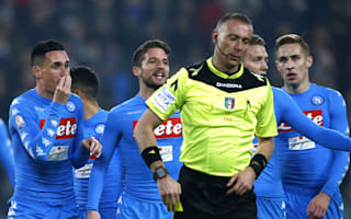 Napoli director slams 'shameful' penalty decisions in Coppa defeat