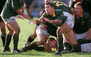 A true Springbok hero, a giant and a warrior - tributes pour in for Van der Westhuizen