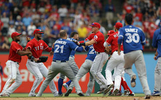 Rangers win heated affair against Blue Jays, Yankees edge White Sox in thriller