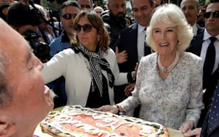 Camilla hails 'brave women' whose loved ones were murdered by mafia