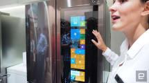 LG también tiene un frigo con pantalla de 29