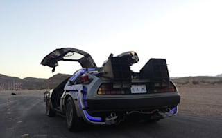 Authentic Back To The Future DeLorean up for sale