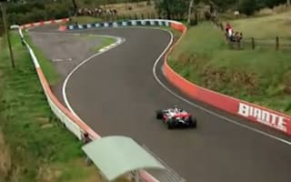 Video: Button takes F1 car round legendary Bathurst track
