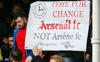 Wenger left hurt by Arsenal fan unrest