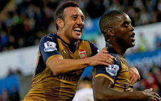 Viking 0 Arsenal 8: Campbell and Iwobi star in second-half rout