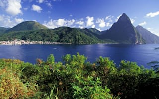 Prince Harry in Caribbean: Next stop St Lucia's pitons