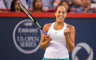 Keys eases into Montreal final