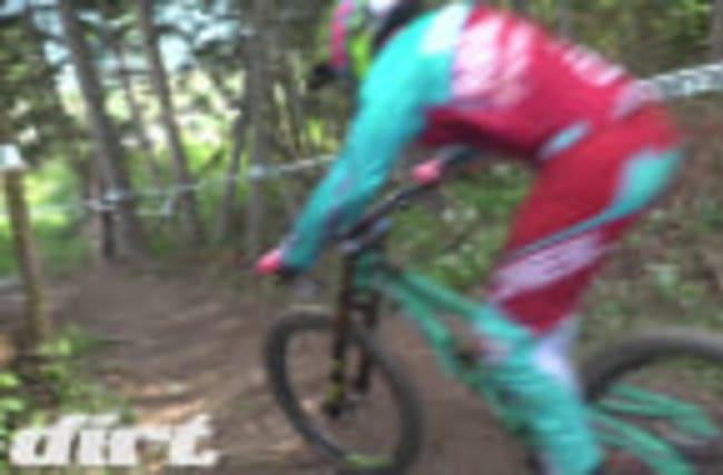 Crankworx Innsbruck DH Practice raw