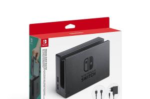 El dock de Switch ya tiene precio, y es una locura