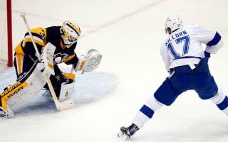 Injury-hit Lightning win game one against Penguins