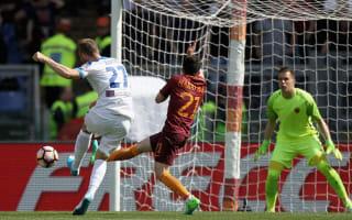 Roma 1 Atalanta 1: Giallorossi held despite Dzeko strike