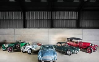 Businessman's incredible car collection sells at auction