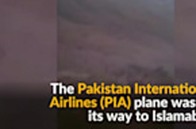At least 40 feared dead in Pakistan plane crash