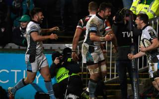 Glasgow humiliate Tigers to qualify, Toulon through despite defeat