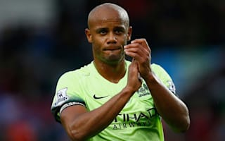 Kompany fit for crunch Spurs clash