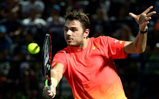 Wawrinka battles past Baghdatis to claim Dubai crown