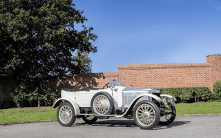 World's first sports car goes up for auction