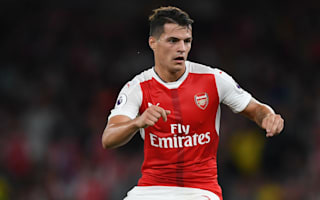 Xhaka pleads for time to settle in at Arsenal