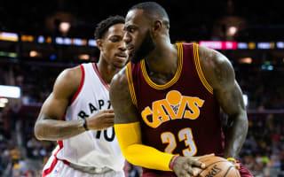 Cavs top Raptors, Hawks extend streak