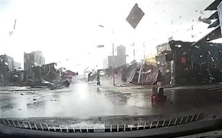 'Tornado' rips through Vietnam