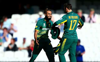 Very close to 10 out of 10 - De Villiers lauds 'fantastic' Tahir