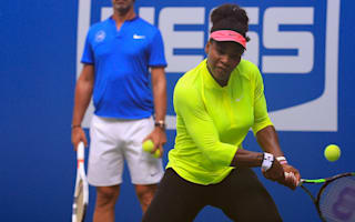 Williams' shoulder problems improving ahead of US Open
