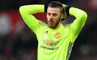 De Gea injury nothing serious - Mourinho