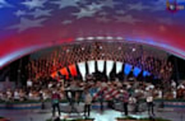 The Beach Boys make waves at National Memorial Day Concert rehearsal