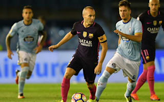Iniesta frustrated as Barcelona miss chance to go top