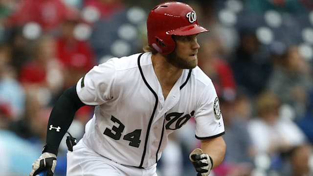 Bryce Harper leads all Major League Baseball  players in All-Star votes