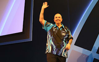 Taylor cruises in Ally Pally opener