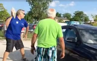 Man smashes window of BMW to save dog from hot car