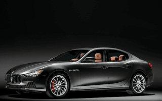 100th Anniversary Maserati Ghibli featured in 2014 Neiman Marcus catalogue